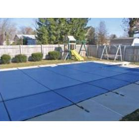 Blue Mesh Pool Safety Cover - 12 Year