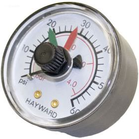 Hayward ECX2712B1 Back Mount Pressure Gauge