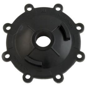 Jandy 2-Port Valve Top - CPVC - Black - 4734