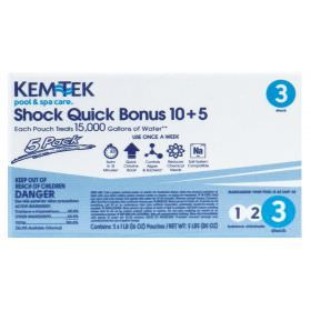 Kem-Tek Shock Quick 10+5 - 5 pack