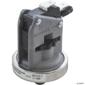 Len Gordon 800120-3 Pressure Switch 25A, SPDT, 1 - 5 PSI