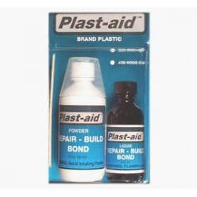 Plast-Aid Plastic Acrylic PVC Repair Non Epoxy Glue 6 oz
