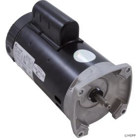 Pool Pump Motor 1.5 HP 2 Speed Square Flange B2983 Energy Efficient
