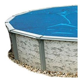 Pool Solar Cover 12 ft x 24 ft Oval - 8 mil