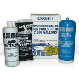 Pool Trol Winter Pool Chemical Kit for 7500 Gallons