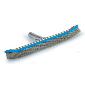 Algae Pool Brush Stainless Steel 18 Inch