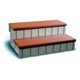 Redwood Spa Storage Step