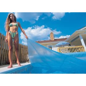 Pool Solar Cover 16 ft x 32 ft Rectangular - 12 mil