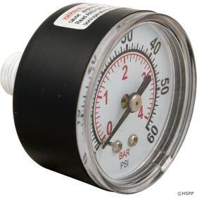 Sta-Rite 33600-0023T Back Mount Pressure Gauge