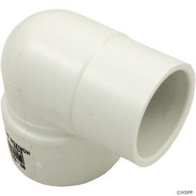 1.5 Inch Schedule 40 PVC 90 Degree Street Elbow - SPG x Slip - 409-015
