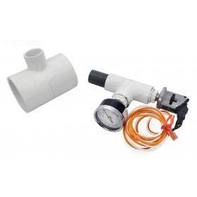 Zodiac 2 4-7-2 Pressure Switch/Gauge Assembly, UltraFlex/UltraFlex