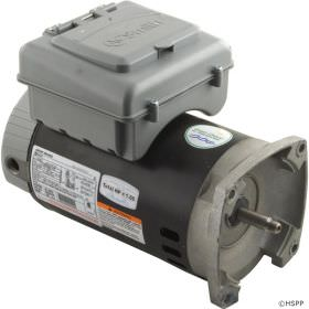B2982T 56Y Frame 1 HP 2-Speed Pump Motors with Timers