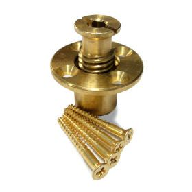 Brass Safety Cover Anchor for Wood Deck