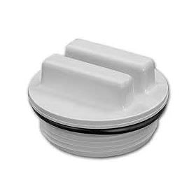 Hayward 1.5 Inch Threaded Plug with O-Ring - White - SP1022C