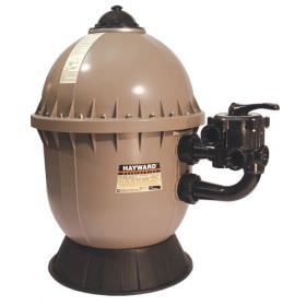 Hayward S200 Series 23-Inch Side Mount Sand Filter with 1.5-Inch Valve