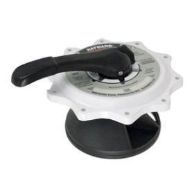 Hayward Vari-Flo SP0715 & SP0716 Key, Cover & Handle Assembly - White SPX0715BA