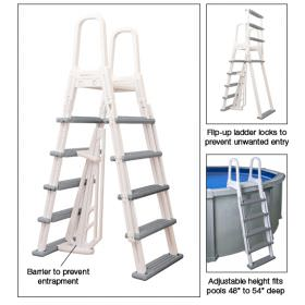 Heavy Duty Above Ground Pool A-Frame Ladder