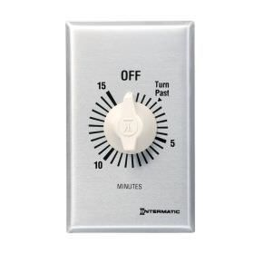 Intermatic FF15MC Wall Timer - 15 Minute - Spring Wound