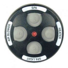 Jandy 7444 Spa-Side 4 Function Black Spa Remotes