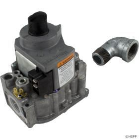 Jandy R0455200 LXi Heater Gas Valve with Elbow - Natural Gas