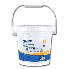 Kem-Tek 3-Inch Chlorine Tablets 15lb