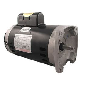 B985 2-Speed Pool Pump Motor 56Y Frame 2 HP Square Flange 230V - Full Rate