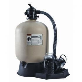 Pentair Sand Dollar Filter System 22 Inch Filter 1.5HP Dynamo Pump