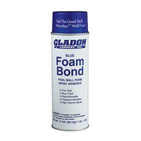 Pool Wall Foam Bond Spray Adhesive