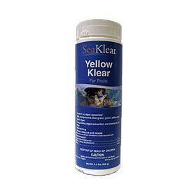 SeaKlear Yellow Klear Pool Algaecide - 2 lb