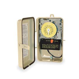 Intermatic Pool Timer With Heat Dealy - 220 Volt - T104R201