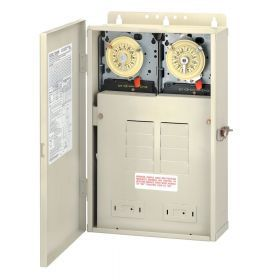 Intermatic T30404R 100 Amp Control Center w/ Dual Timers 240V