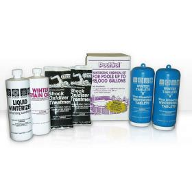 Winter Pool Chemical Kit for 15,000 Gallon Swimming Pools